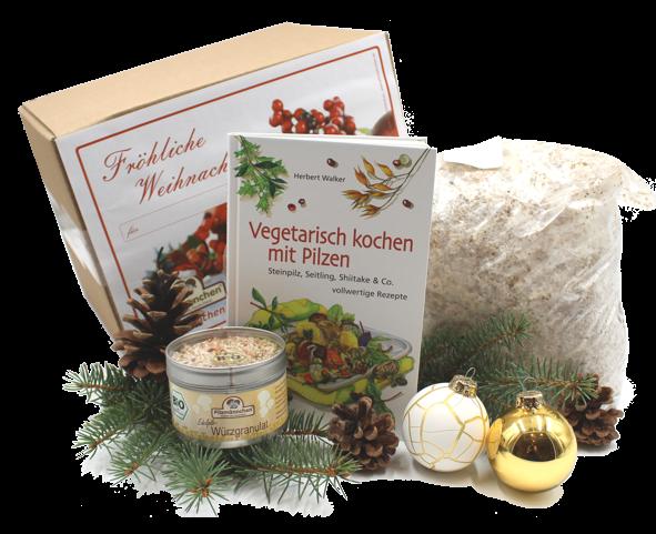 Fröhliche Weihnachten, Feinschmecker-Genuss Austernseitling